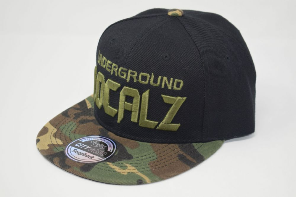 LOCALZ  Snapback caps, one size fits all adjustable